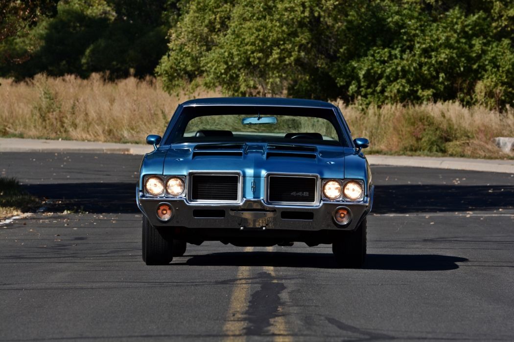 1971 Oldsmobile Coupe 442 W-301 Muscle Old Classic Original USA -15 wallpaper