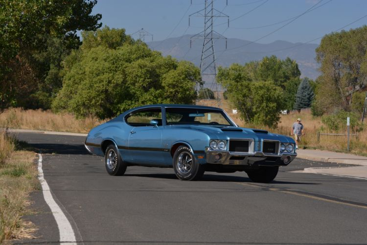 1971 Oldsmobile Coupe 442 W-301 Muscle Old Classic Original USA -16 wallpaper