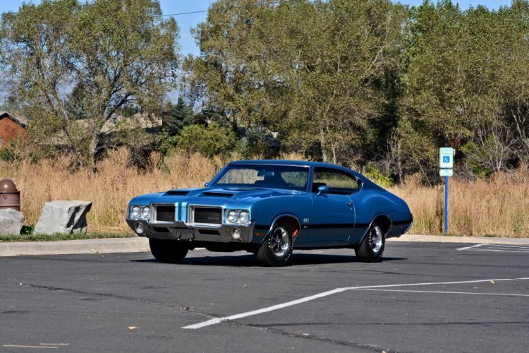 1971 Oldsmobile Coupe 442 W-301 Muscle Old Classic Original USA -14 wallpaper