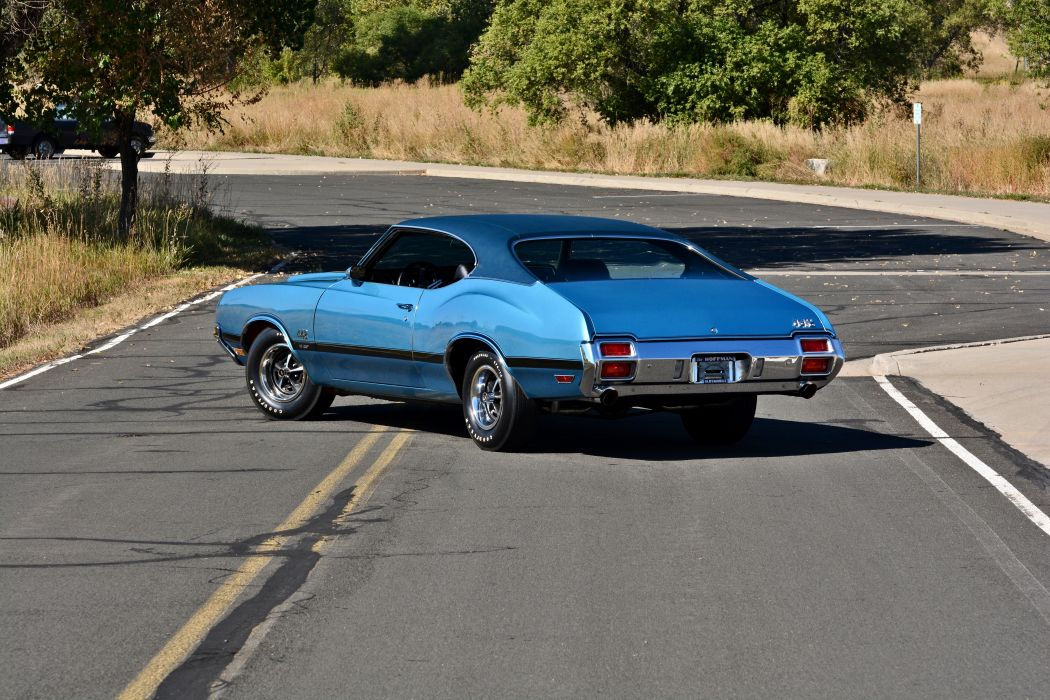 1971 Oldsmobile Coupe 442 W-301 Muscle Old Classic Original USA -17 wallpaper