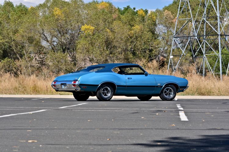 1971 Oldsmobile Coupe 442 W-301 Muscle Old Classic Original USA -23 wallpaper