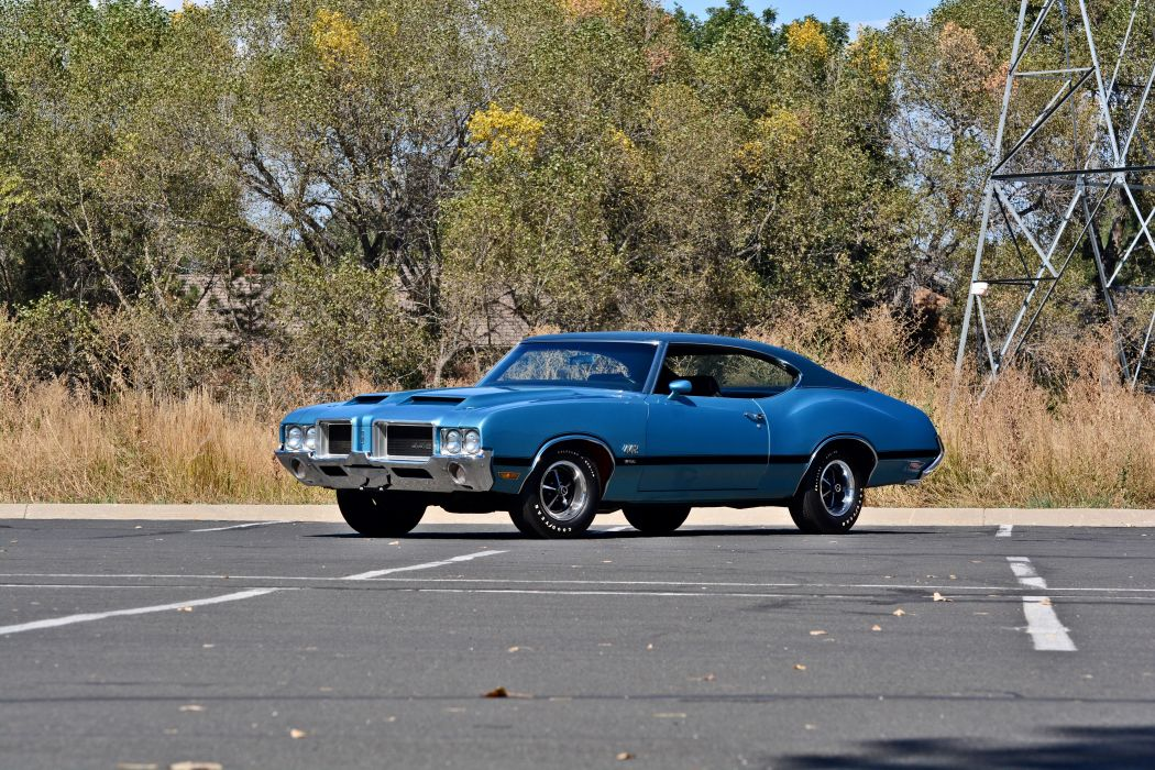 1971 Oldsmobile Coupe 442 W-301 Muscle Old Classic Original USA -22 wallpaper