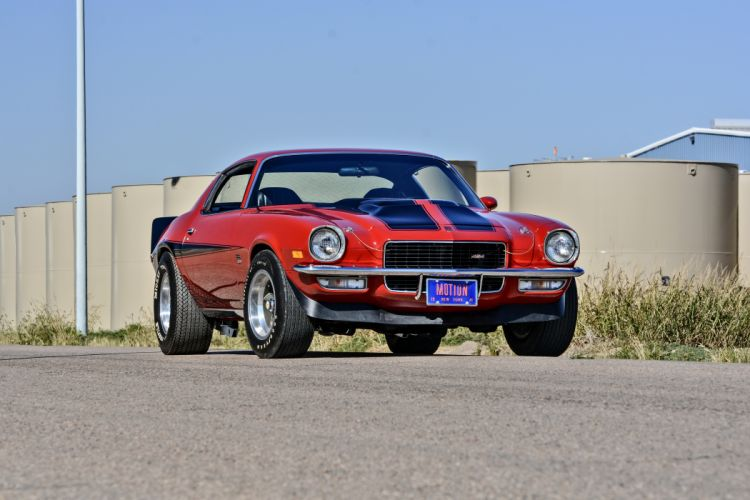 1971 Chevrolet Camaro Motion Phase III Muscle Classic Old Original USA -01 wallpaper