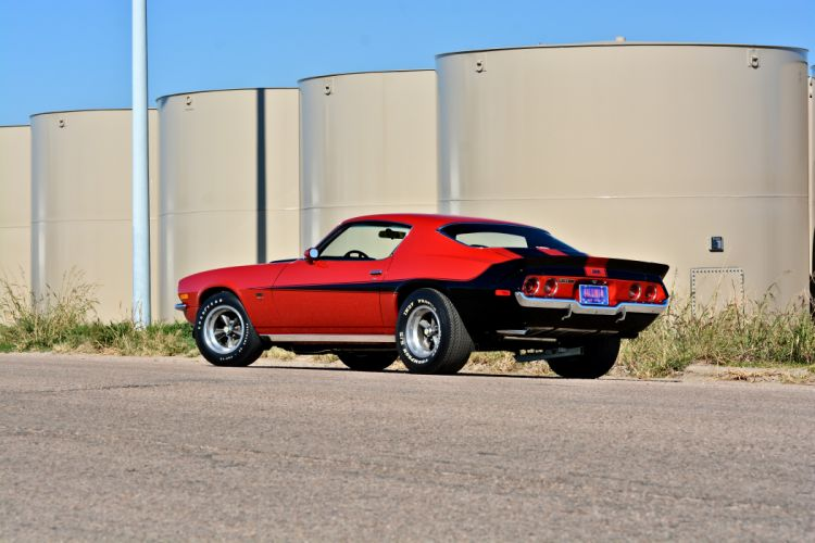 1971 Chevrolet Camaro Motion Phase III Muscle Classic Old Original USA -03 wallpaper