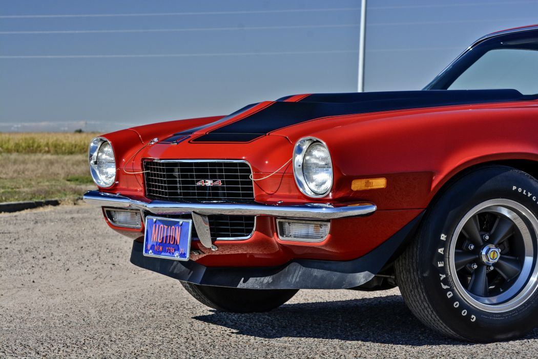 1971 Chevrolet Camaro Motion Phase III Muscle Classic Old Original USA -08 wallpaper