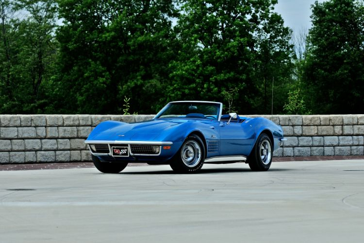 1971 Chevrolet Corvette Convertible Muscle Classic Original USA -02 wallpaper