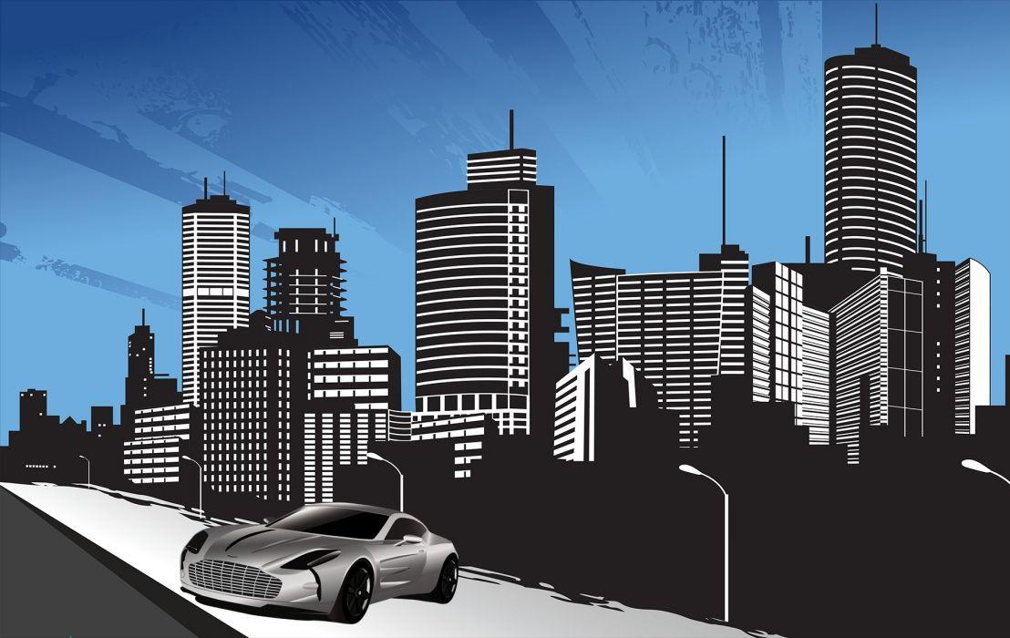 City Streets wallpaper