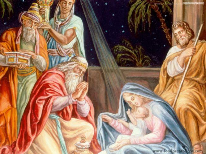 nacimiento jesus navidad wallpaper