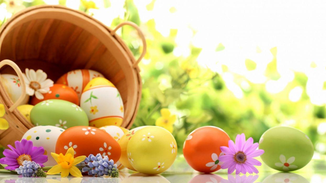 huevos pascua cesta wallpaper