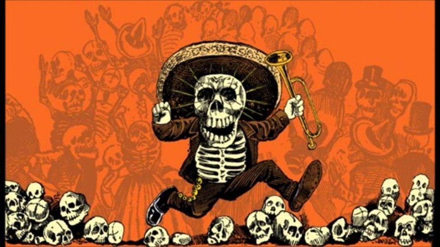 mexico halloween calaberas wallpaper