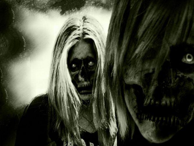 zombie halloween wallpaper