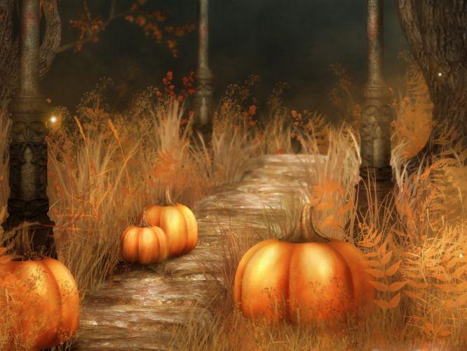 halloween calabazas terror wallpaper