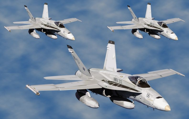 F-18 Strike Group wallpaper