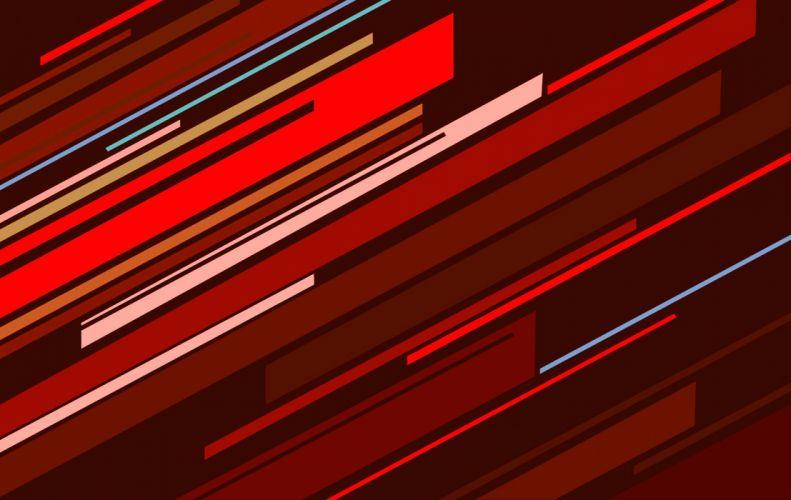 RED Oblique wallpaper