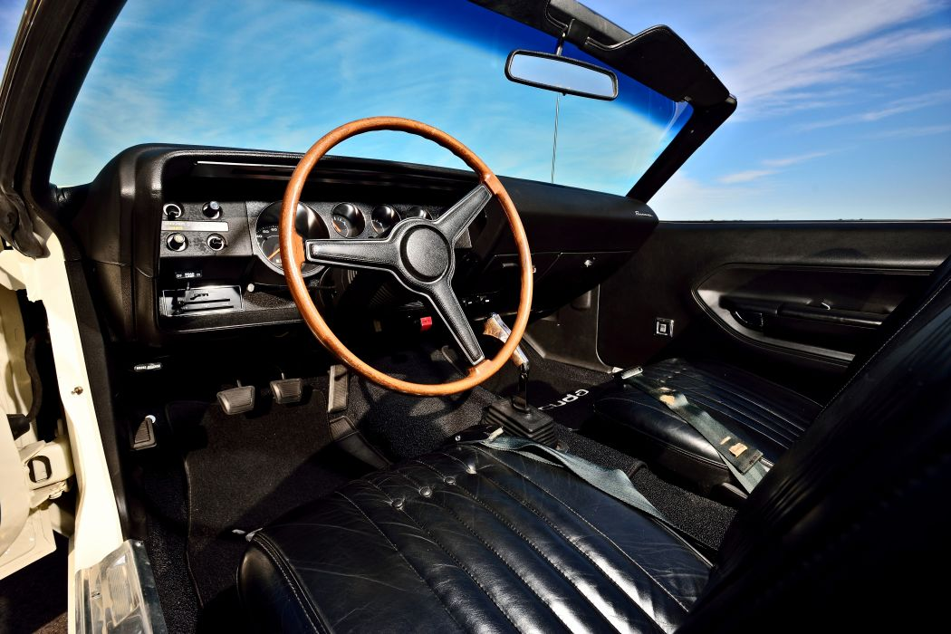 1970 Plymouth Hemi Cuda 440 Convertible Muscle Old Classic Original USA -04 wallpaper