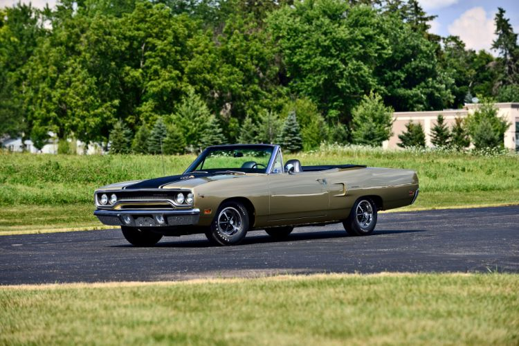 1970 Plymouth Road Runner Convertible Muscle Old Classic Original USA -01 wallpaper