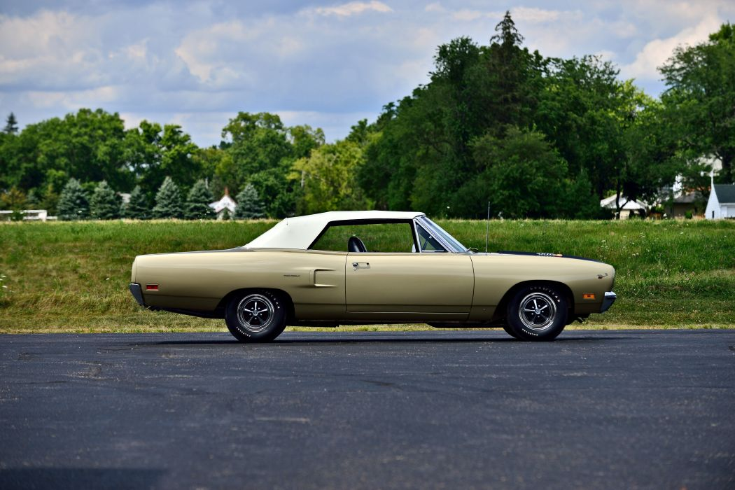 1970 Plymouth Road Runner Convertible Muscle Old Classic Original USA -08 wallpaper