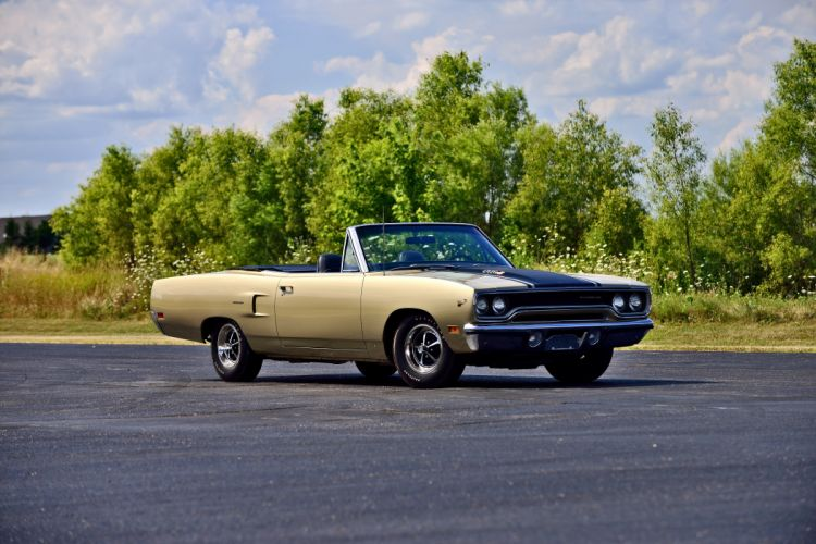 1970 Plymouth Road Runner Convertible Muscle Old Classic Original USA -09 wallpaper