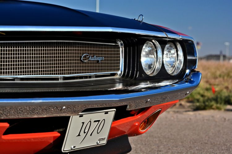1970 Dodge Challenger TA 340 Six Pack Muscle Old Classic Original USA -06 wallpaper