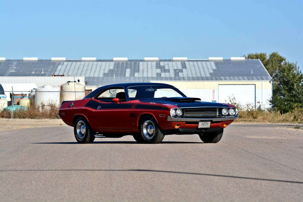 1970 Dodge Challenger TA 340 Six Pack Muscle Old Classic Original USA -11 wallpaper