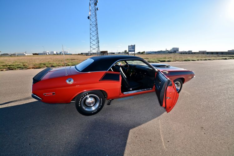 1970 Dodge Challenger TA 340 Six Pack Muscle Old Classic Original USA -15 wallpaper