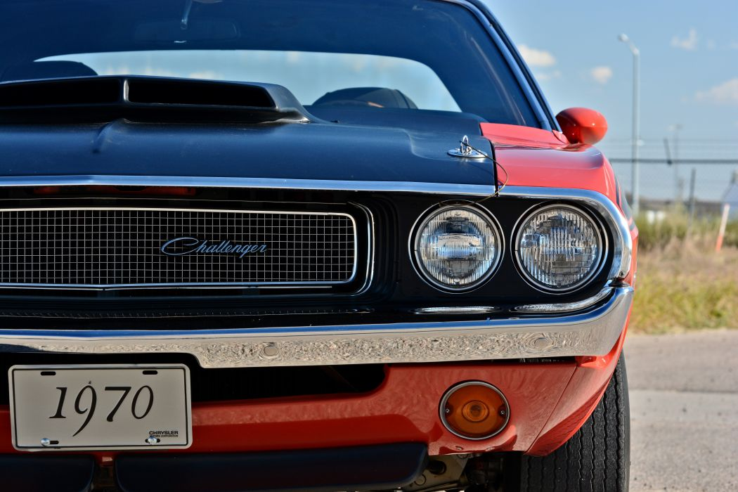 1970 Dodge Challenger TA 340 Six Pack Muscle Old Classic Original USA -17 wallpaper