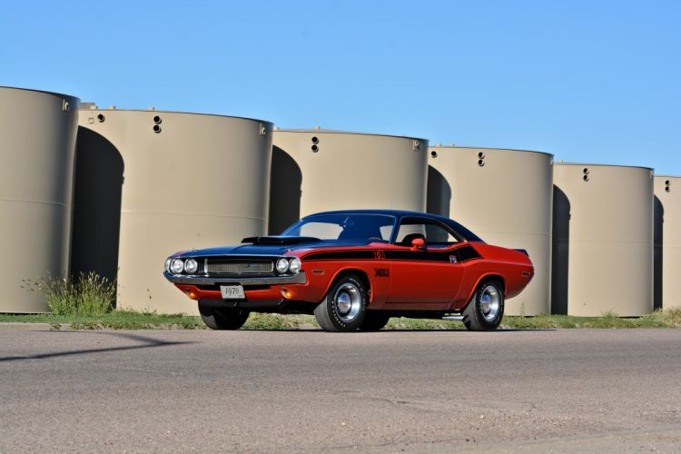 1970 Dodge Challenger TA 340 Six Pack Muscle Old Classic Original USA -23 wallpaper