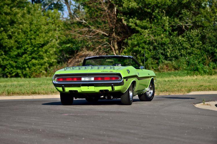 1970 Dodge Hemi Challenger RT Convertible Muscle Old Classic Original USA -03 wallpaper