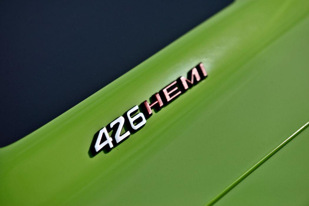 1970 Dodge Hemi Challenger RT Convertible Muscle Old Classic Original USA -06 wallpaper