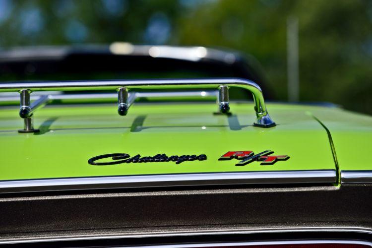 1970 Dodge Hemi Challenger RT Convertible Muscle Old Classic Original USA -07 wallpaper