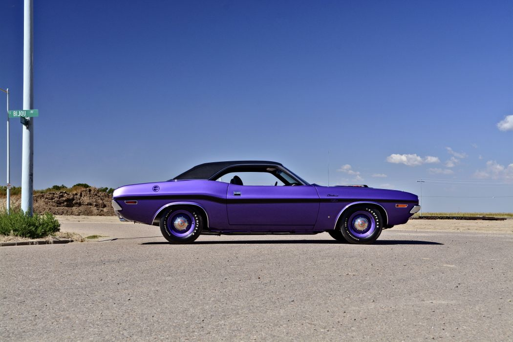 1970 Dodge Hemi Challenger RT Muscle Old Classic Original USA -02 wallpaper