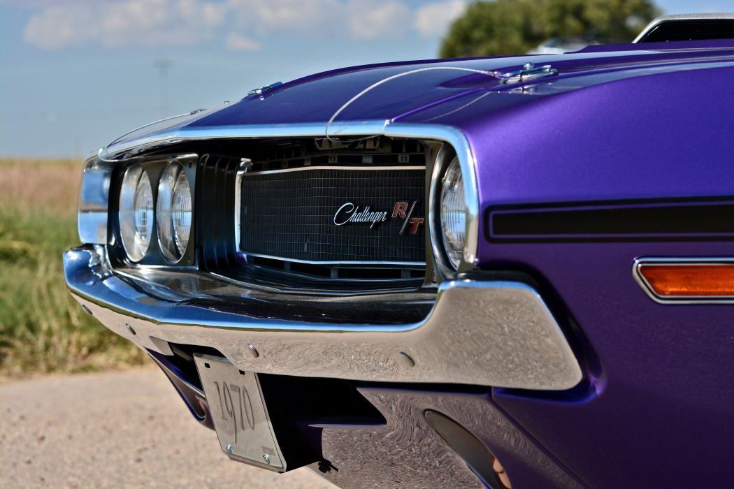 1970 Dodge Hemi Challenger RT Muscle Old Classic Original USA -08 wallpaper