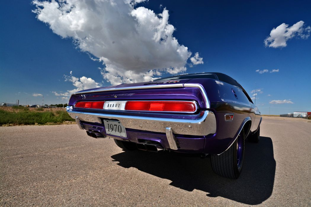 1970 Dodge Hemi Challenger RT Muscle Old Classic Original USA -09 wallpaper