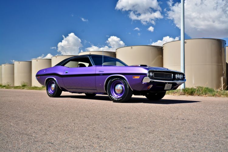 1970 Dodge Hemi Challenger RT Muscle Old Classic Original USA -13 wallpaper