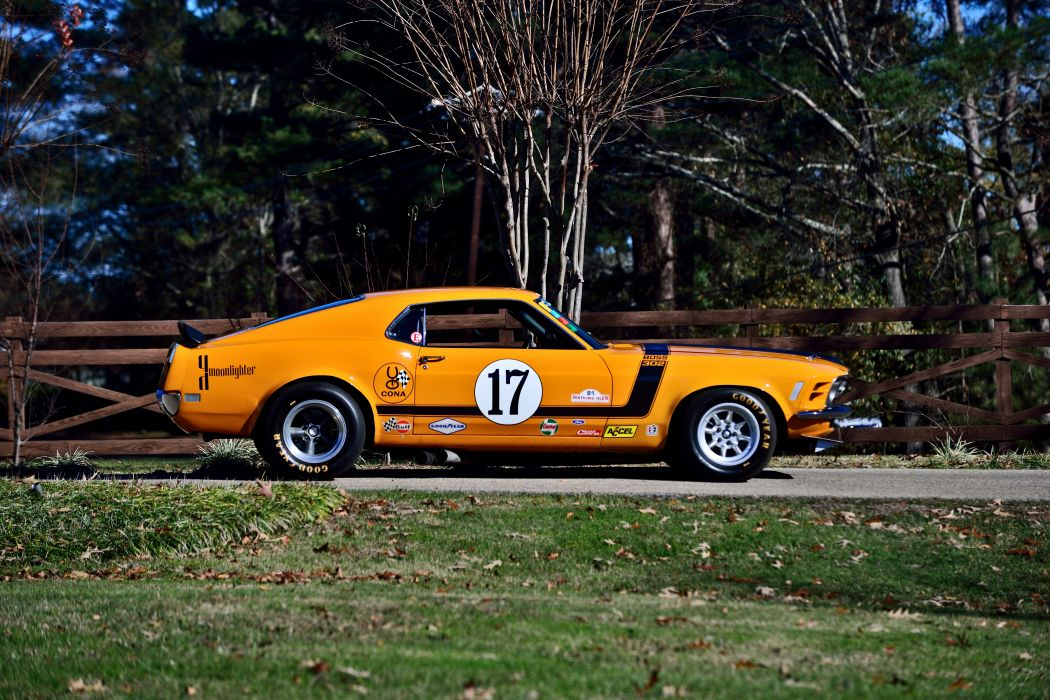 1970 Ford Mustang Boss 302 Kar Kraft Trans Am Racer Classic Old USA -02 wallpaper