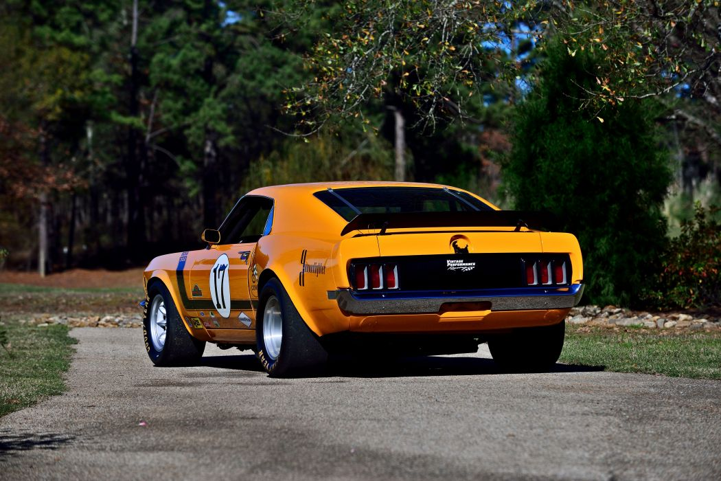 1970 Ford Mustang Boss 302 Kar Kraft Trans Am Racer Classic Old USA -11 wallpaper