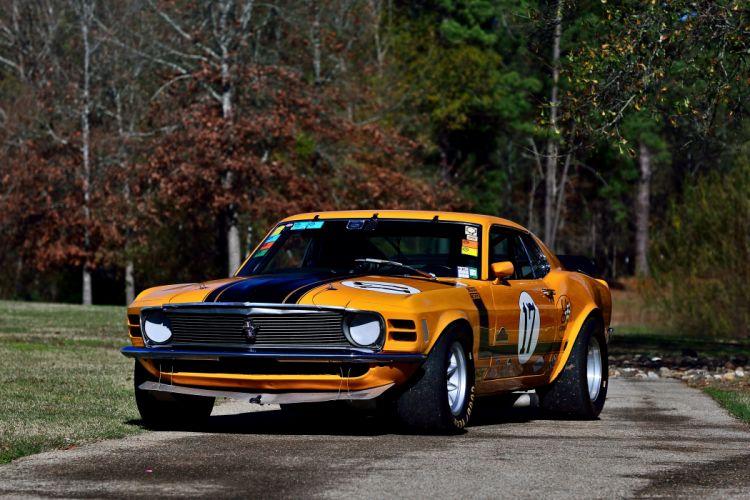 1970 Ford Mustang Boss 302 Kar Kraft Trans Am Racer Classic Old USA -15 wallpaper