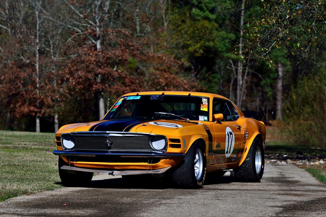 1970 Ford Mustang Boss 302 Kar Kraft Trans Am Racer Classic Old USA -15 wallpaper