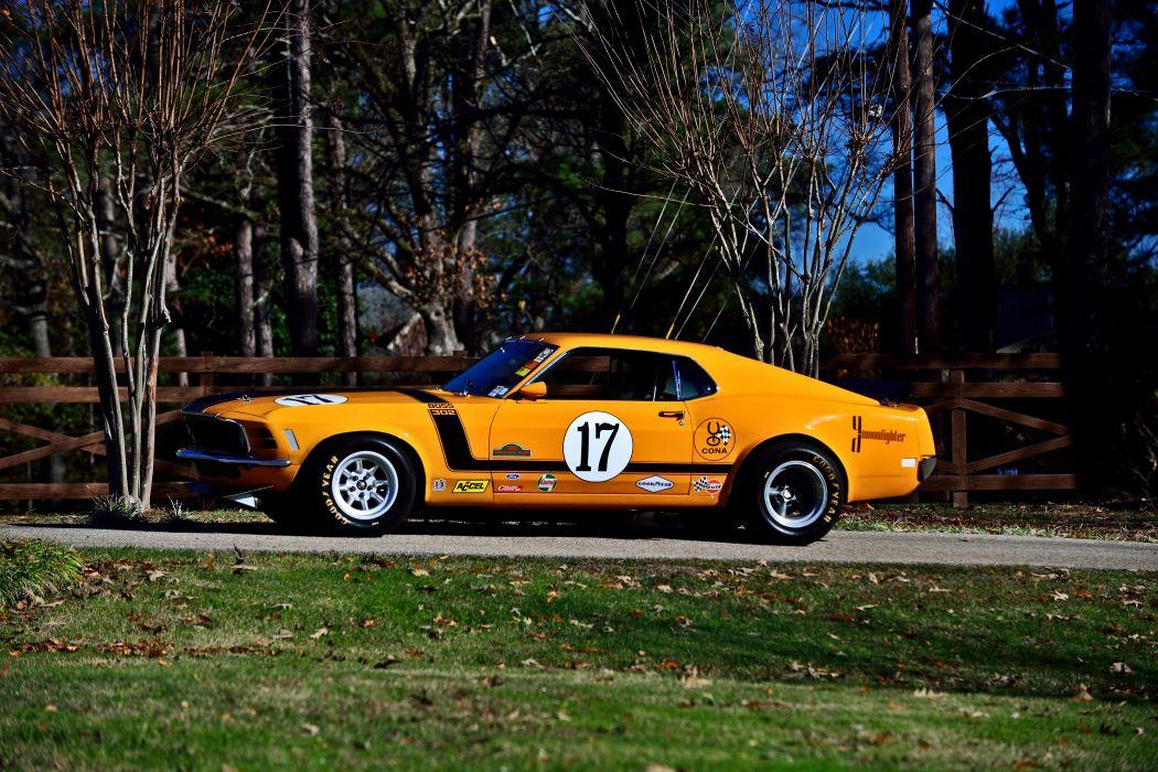 1970 Ford Mustang Boss 302 Kar Kraft Trans Am Racer Classic Old USA -14 wallpaper