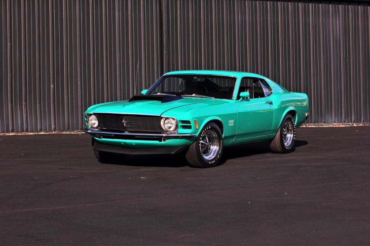 1970 Ford Mustang Boss 429 Fastback Muscle Classic Original USA -04 wallpaper