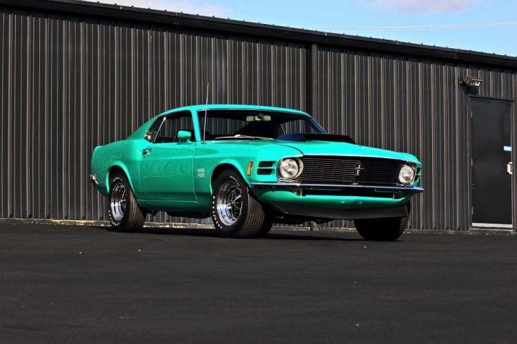 1970 Ford Mustang Boss 429 Fastback Muscle Classic Original USA -07 wallpaper