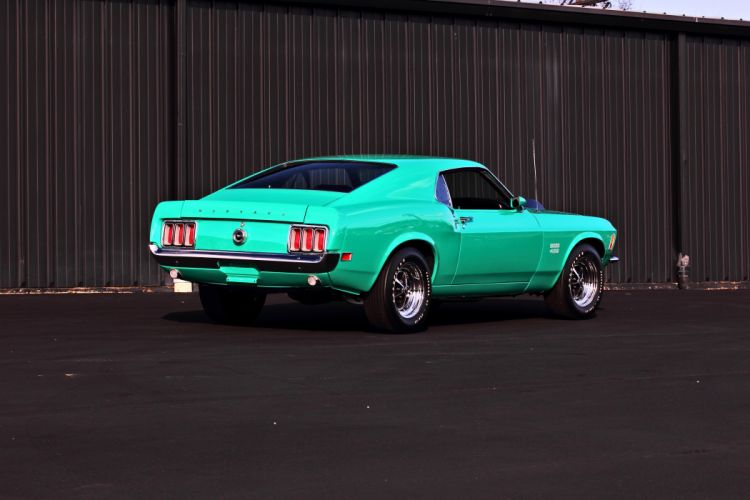1970 Ford Mustang Boss 429 Fastback Muscle Classic Original USA -08 wallpaper