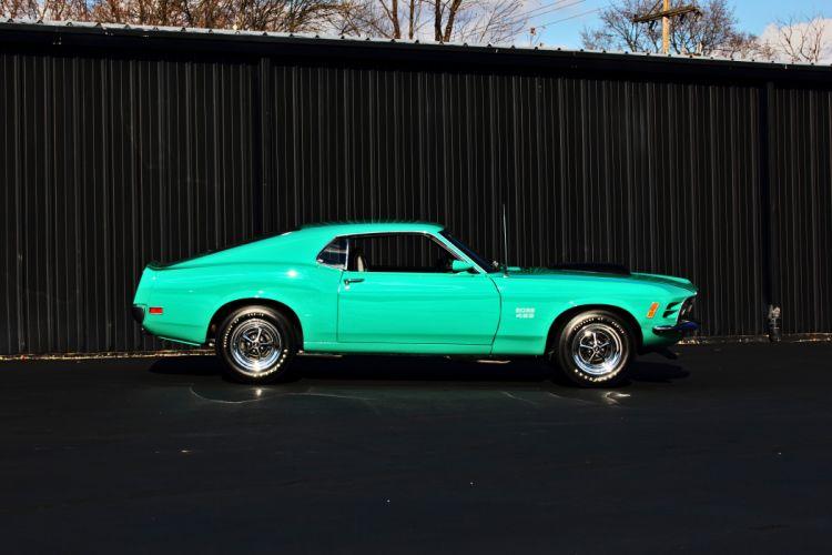 1970 Ford Mustang Boss 429 Fastback Muscle Classic Original USA -09 wallpaper