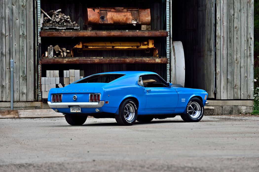1970 Ford Mustang Boss 429 Fastback Muscle Old Classic Original USA -03 wallpaper