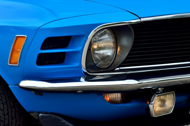 1970 Ford Mustang Boss 429 Fastback Muscle Old Classic Original USA -11 wallpaper