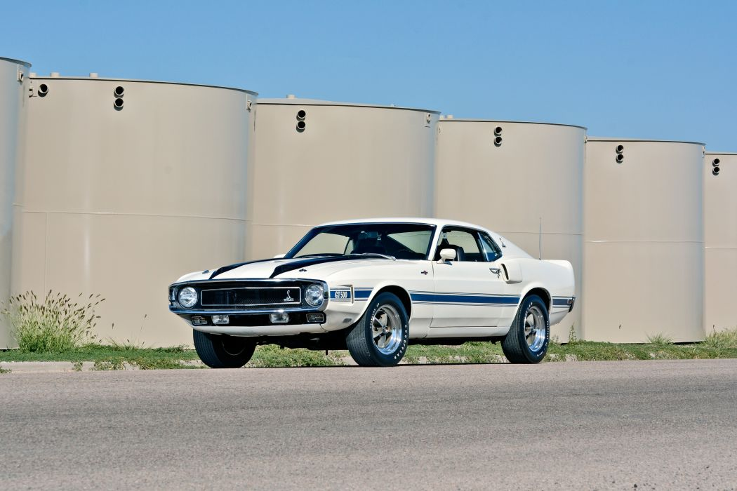 1970 Ford Mustang Shelby GT500 Fastback Muscle Old Classic Original USA -01 wallpaper