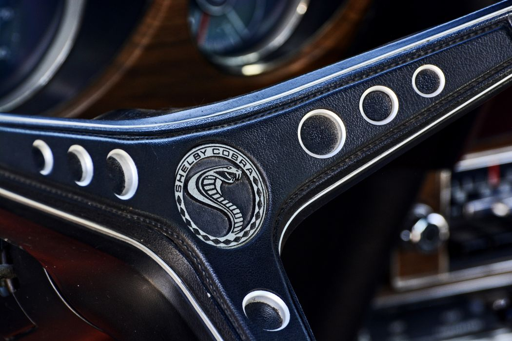 1970 Ford Mustang Shelby GT500 Fastback Muscle Old Classic Original USA -05 wallpaper