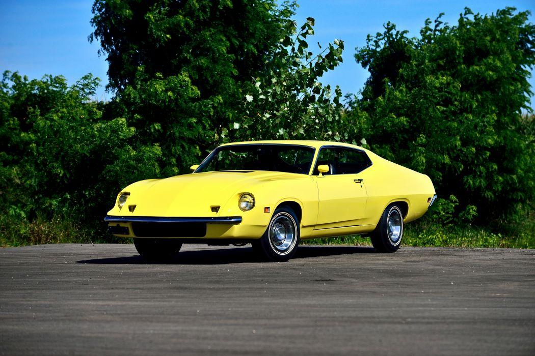 1970 Ford Torino King Cobra Muscle Old Classic Original USA -01 wallpaper
