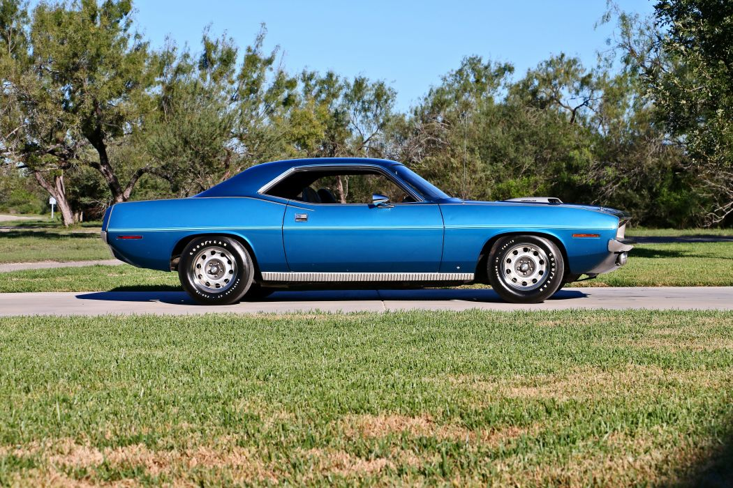 1970 Plymouth Hemi 426 Cuda Muscle Classic Old Original Coupe Hardtop USA -06 wallpaper