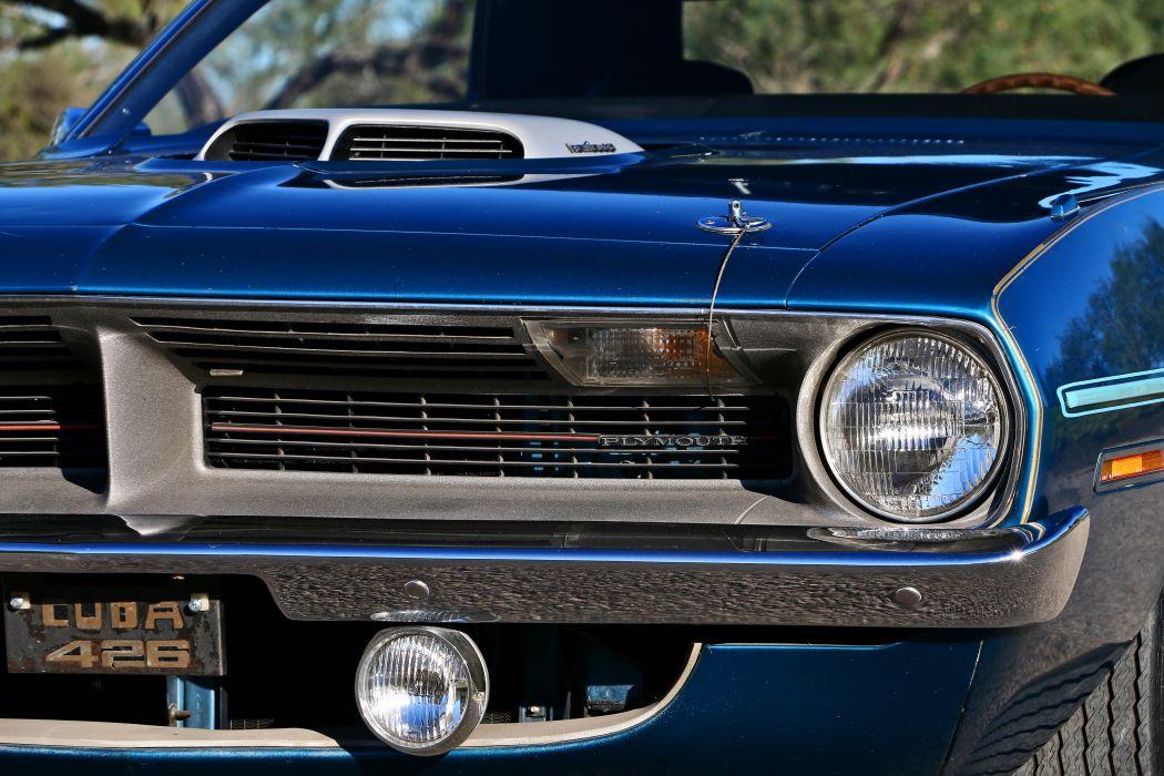 1970 Plymouth Hemi 426 Cuda Muscle Classic Old Original Coupe Hardtop USA -07 wallpaper